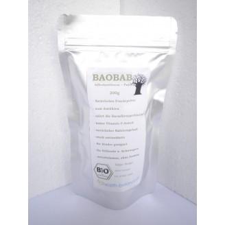 BIO Baobab (Affenbrotbaum) Fruchtpulver 500g (100g - € 3,70)